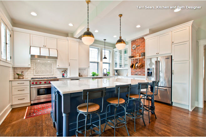kitchen combo to try neutral cabinets different colored island rh pinterest com au