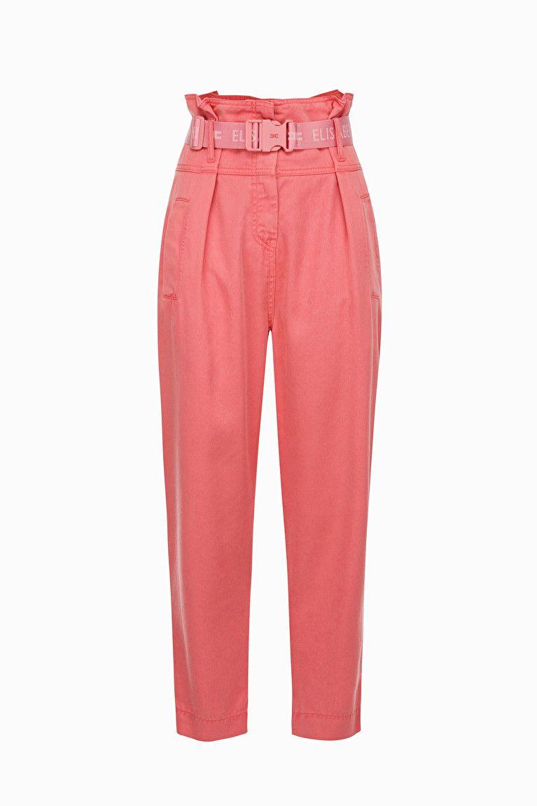 7c50088b139b Pantalone con cintura nel 2019 | Cose da comprare | Trousers ...