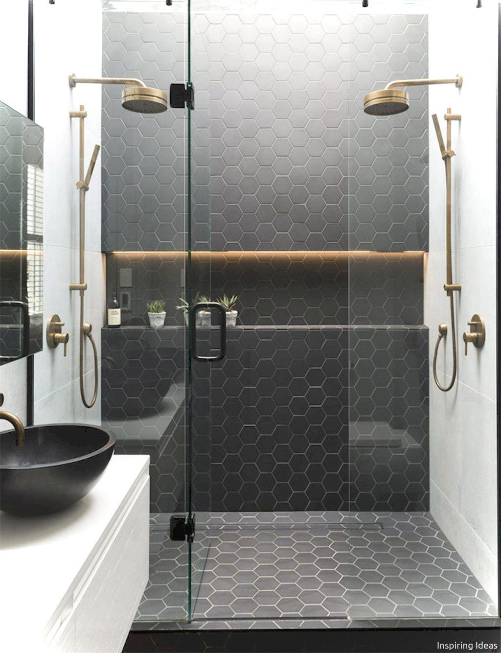 Adorable 100 Incredible Black and White Bathroom