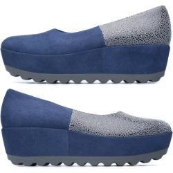 Camper Twins, Plateau/keilabsatz Damen, Blau/Multicolor, Größe 39 (eu), 22089-028 CamperCamper #shoewedges