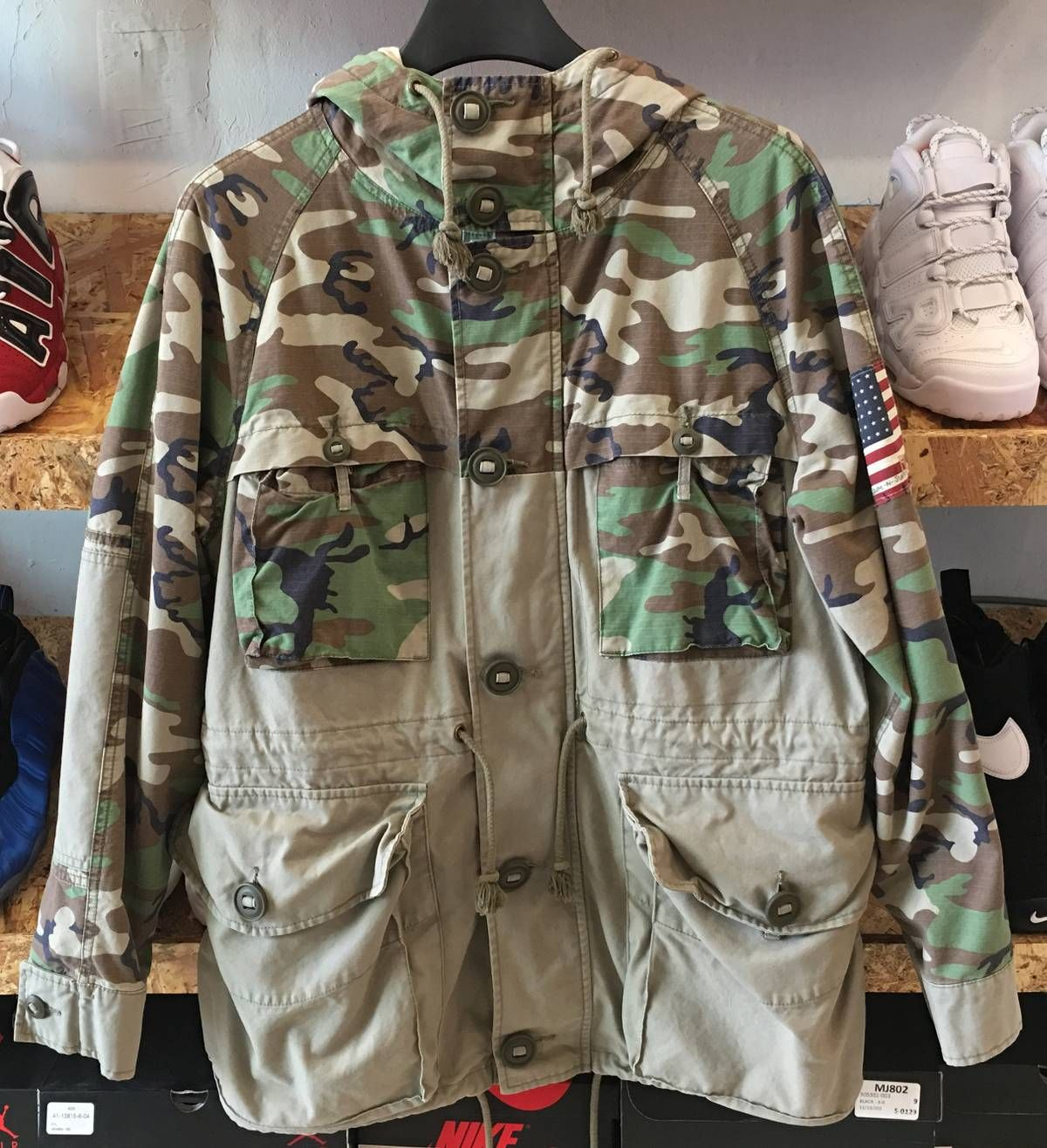 Denim And Supply Ralph Lauren Denim And Supply Camo Jacket Size S 279 Denim And Supply Camo Jacket Jackets [ 1316 x 1200 Pixel ]