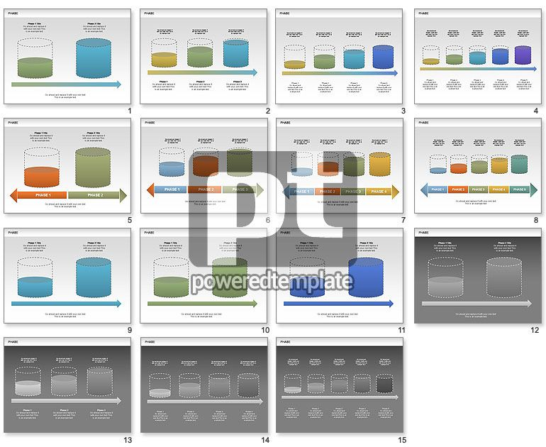 Tank Stages Diagrams PowerPoint Charts and Diagrams Pinterest - chemistry chart template