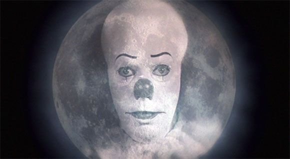 Image result for pennywise in the moon
