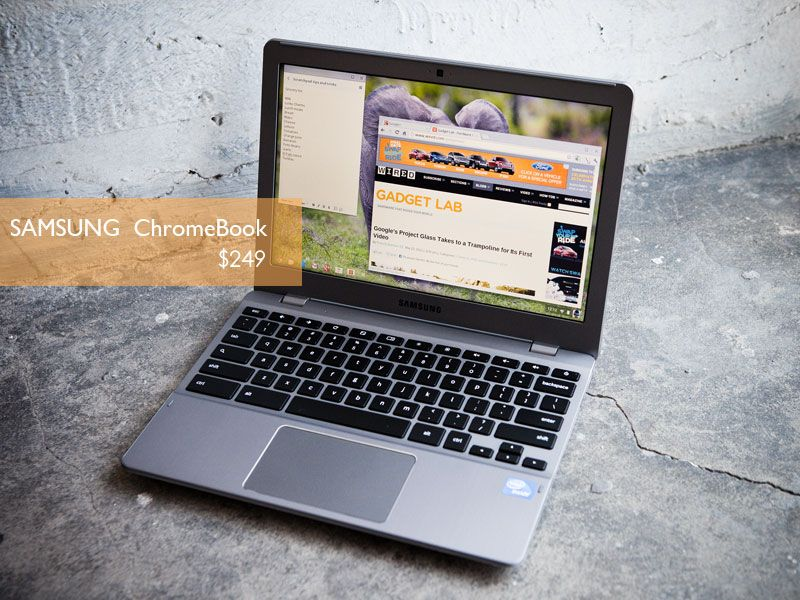 Google hopes to tap into new markets with the $249 Samsung Chromebook, a laptop running Google's browser-based Chrome OS and built atop a Samsung A15-class ARM processor.    To know more visit our page