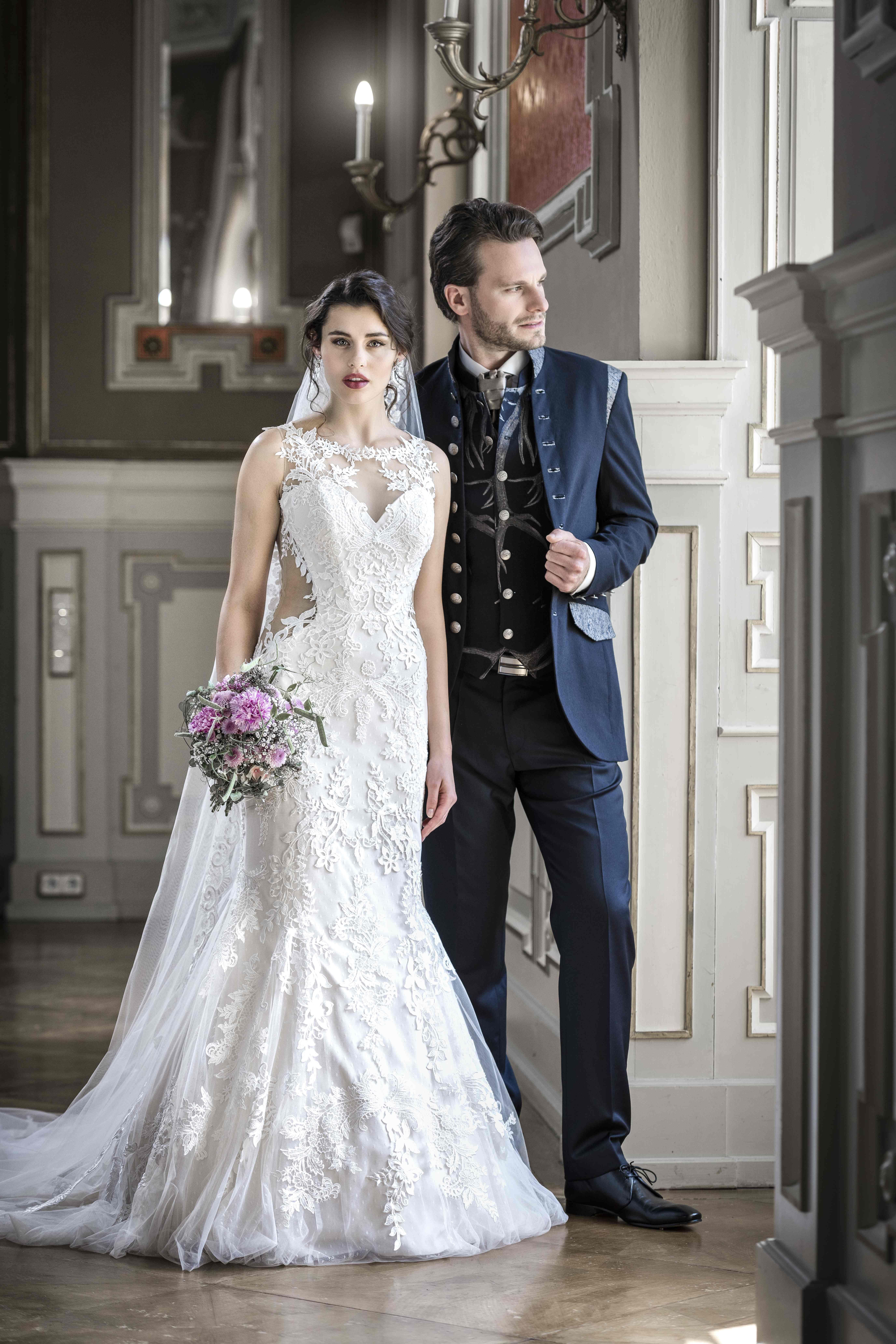 Elegantes Hochzeitspaar Modell: Bianca Puchmüller & Manuel