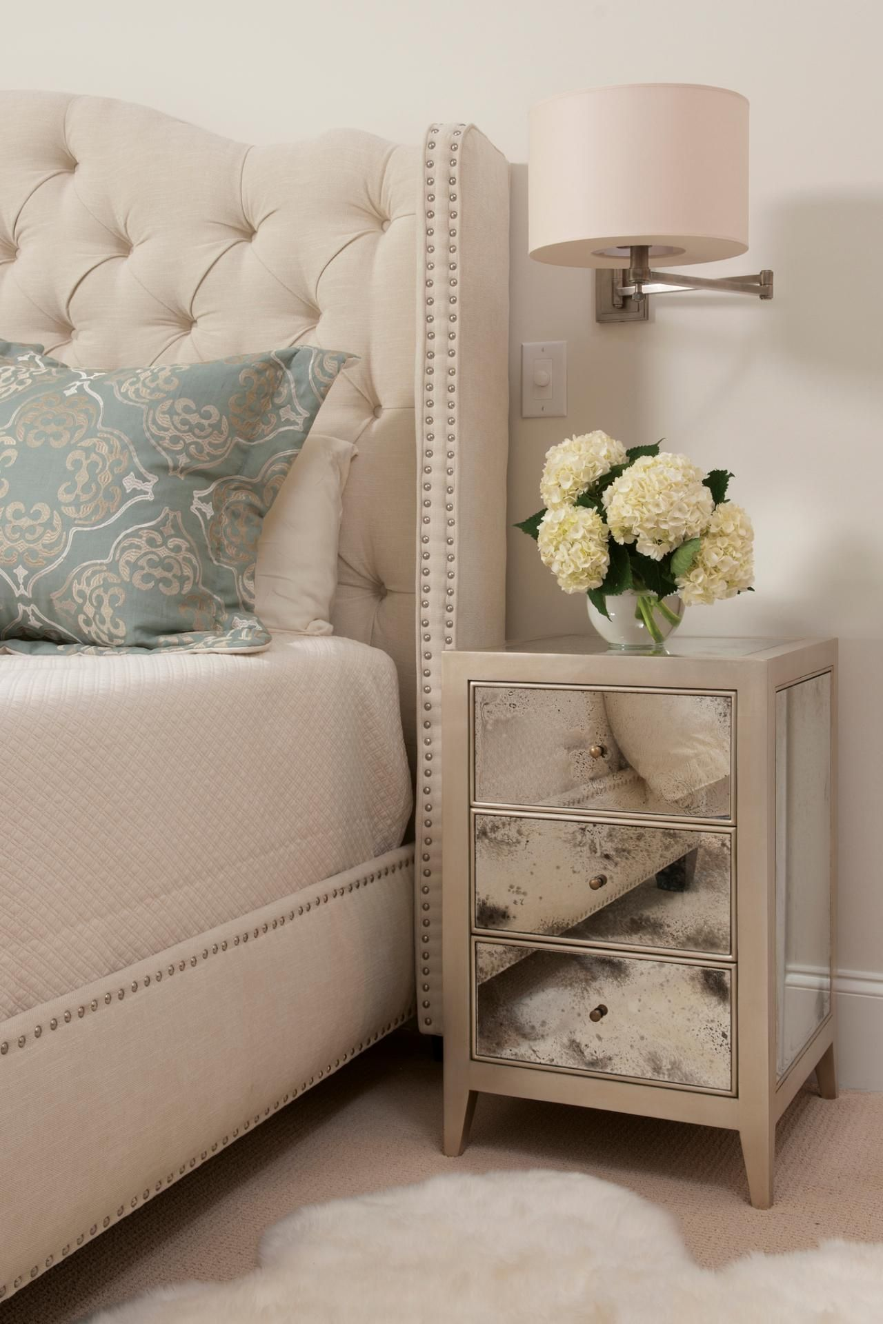 bill not sure i like the studs on the headboard i also haven t rh pinterest es