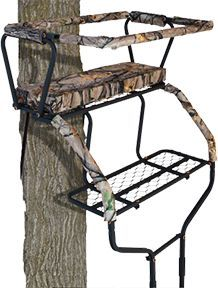 Muddy Commander 2 Man Ladder Stand Ea Ladder Stands Deer Stand Outdoor Chairs