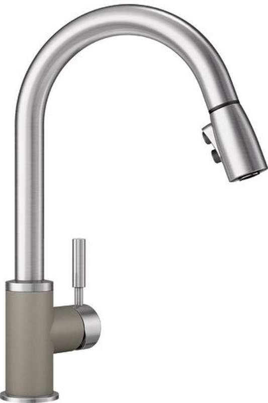 blanco 442058 sonoma kitchen faucet stainless steel truffle faucet rh in pinterest com