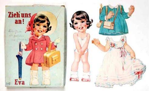 recortables muñecas de papel, paper dolls, bambole da carta, poupées en papier –…