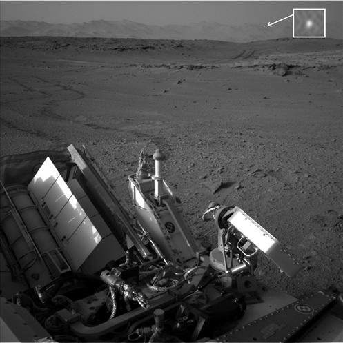 FANTÁSTICO - NASA: Rover Curiosity Captura Imagem de UFO descendo em Marte