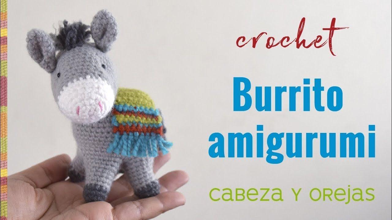 Burrito sabanero amigurumi (crochet) Parte 1 / Tejiendo Perú ...