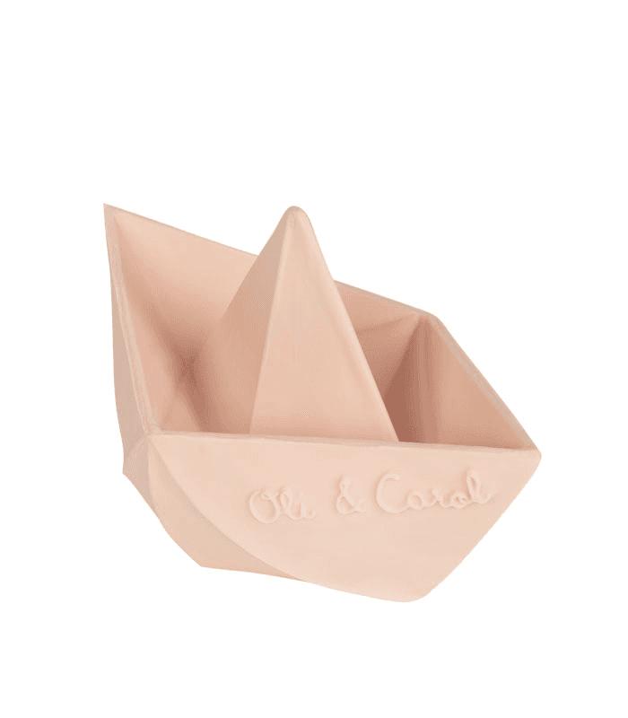 Photo of Oli & Carol-Nude Origami Boat Toy