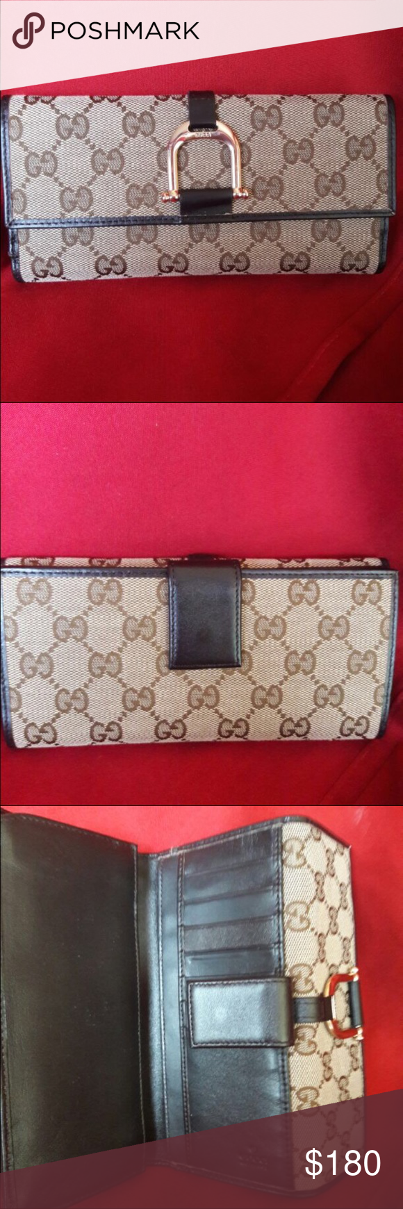 Gucci wallet authentic Authentic Gucci wallet in good condition Gucci Bags Wallets