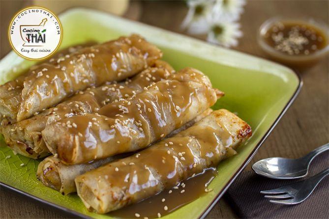 Superb Vídeo Receta: Roll De Plátano | Cocino Thai