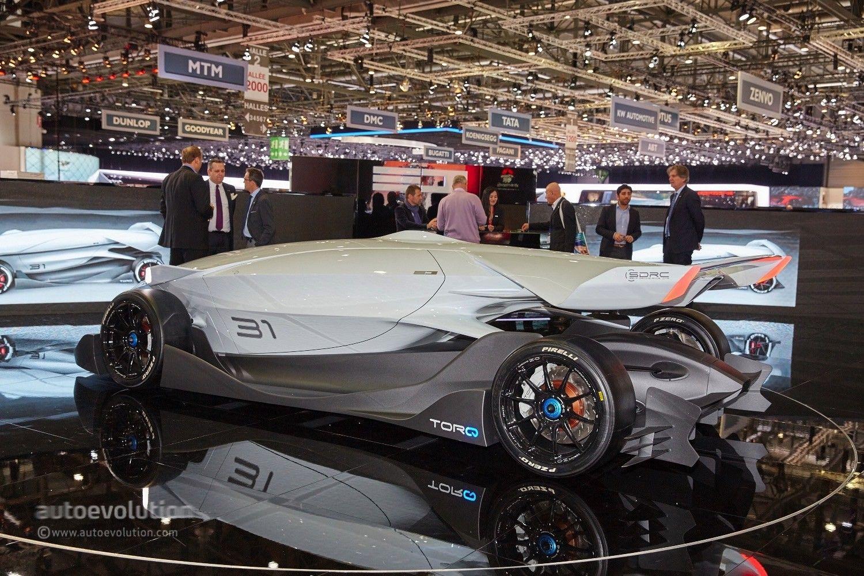 Driver optional in the windowless ED Torq race car | Race tracks ...