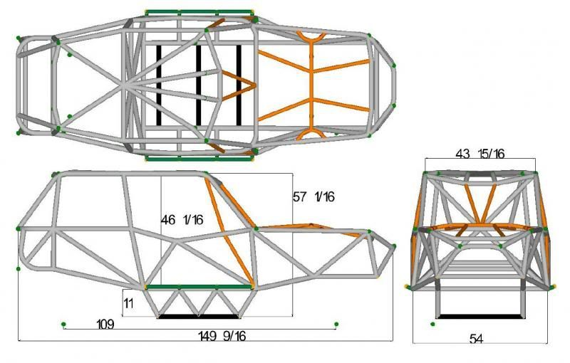 Trophy Kart Frame Blueprints