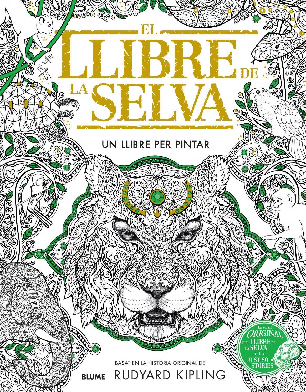 El Llibre De La Selva Jungle Book Coloring Books Animal Coloring Books