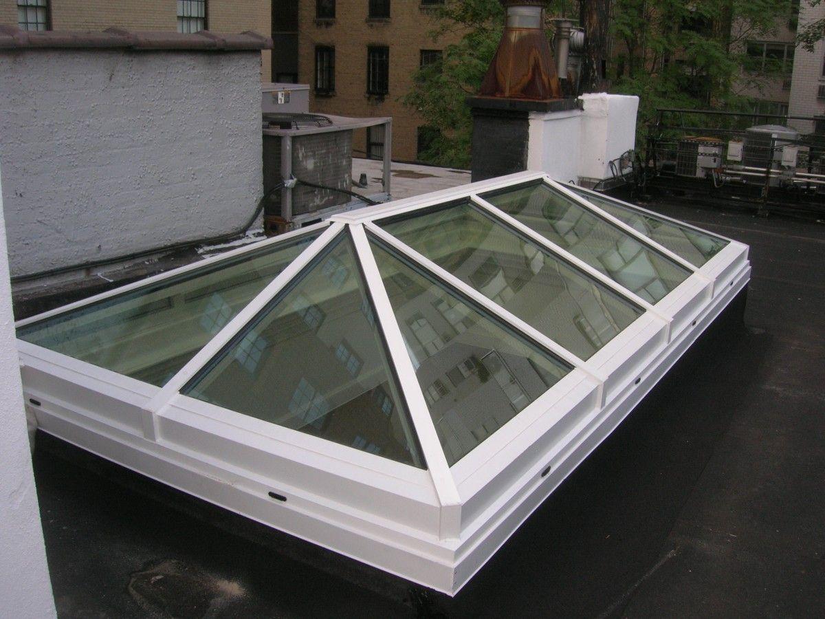 Roof Top Hip Skylight Glass House Llc Glass Roof Hip Roof