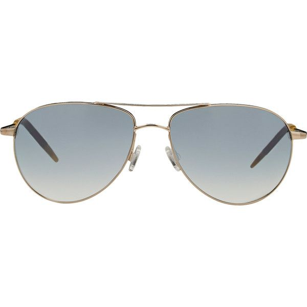 091fcfedc1 Oliver Peoples Benedict Sunglasses ( 450) ❤ liked on Polyvore ...