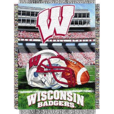 Northwest Co Ncaa Throw Wisconsin Badgers Wisconsin Badger Home