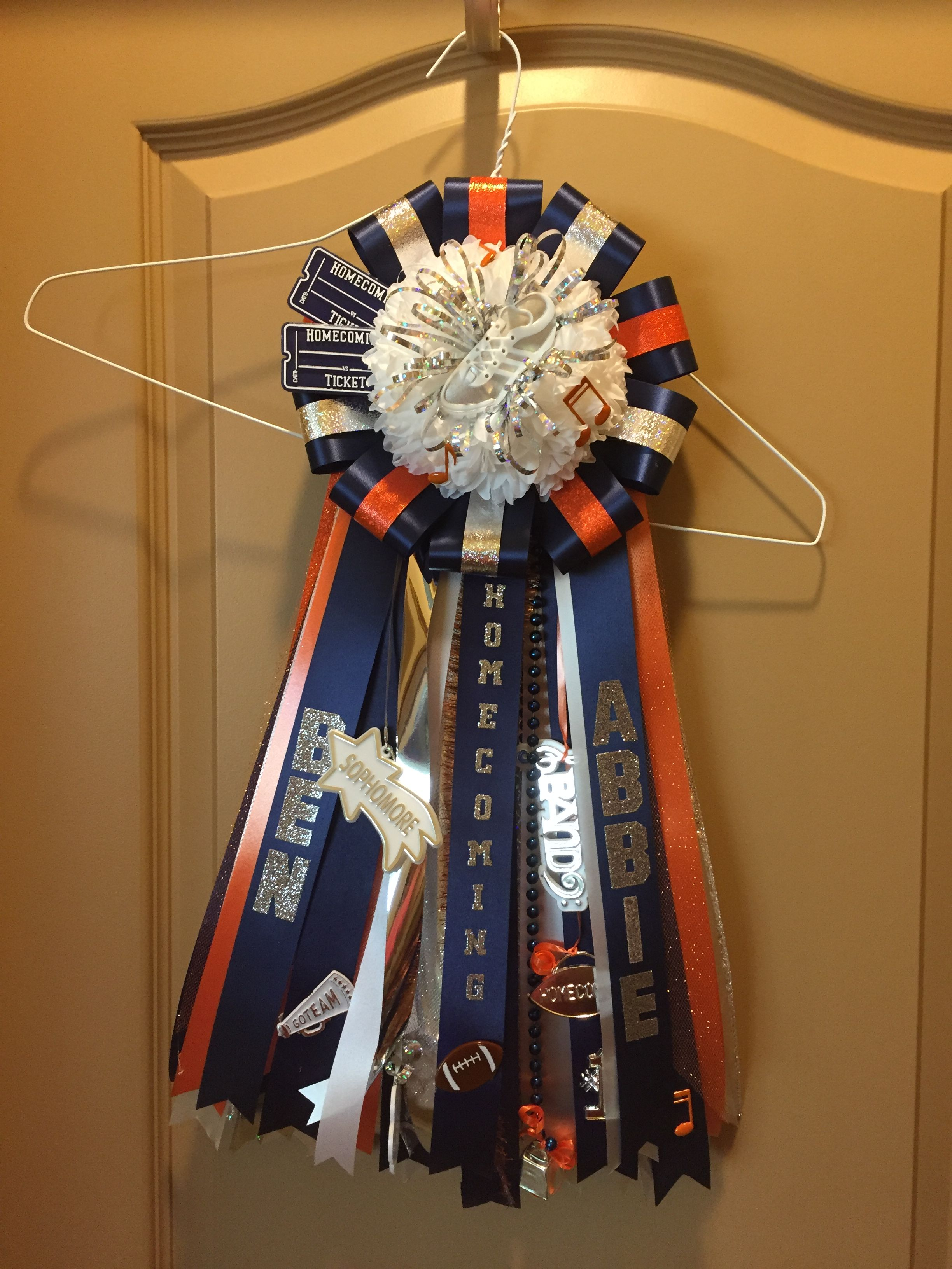 Bridgeland High School Homecoming Mum Garter With Images