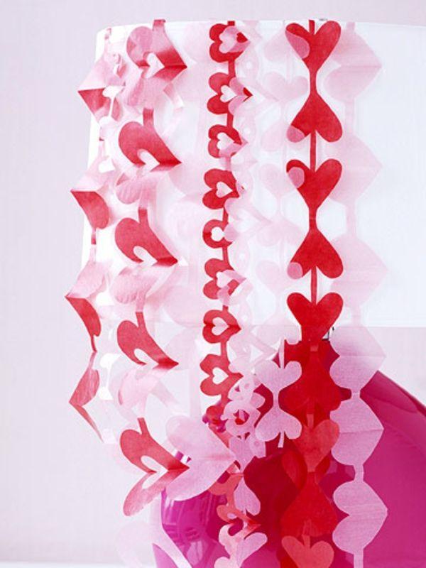 Valentinstag Dekoration Selber Machen   22 Tolle Ideen