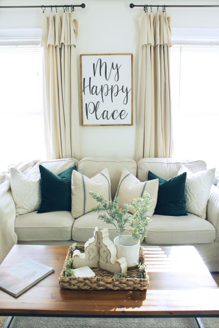 diy farmhouse style drop cloth curtains 2 ways home farmhouse rh pinterest com
