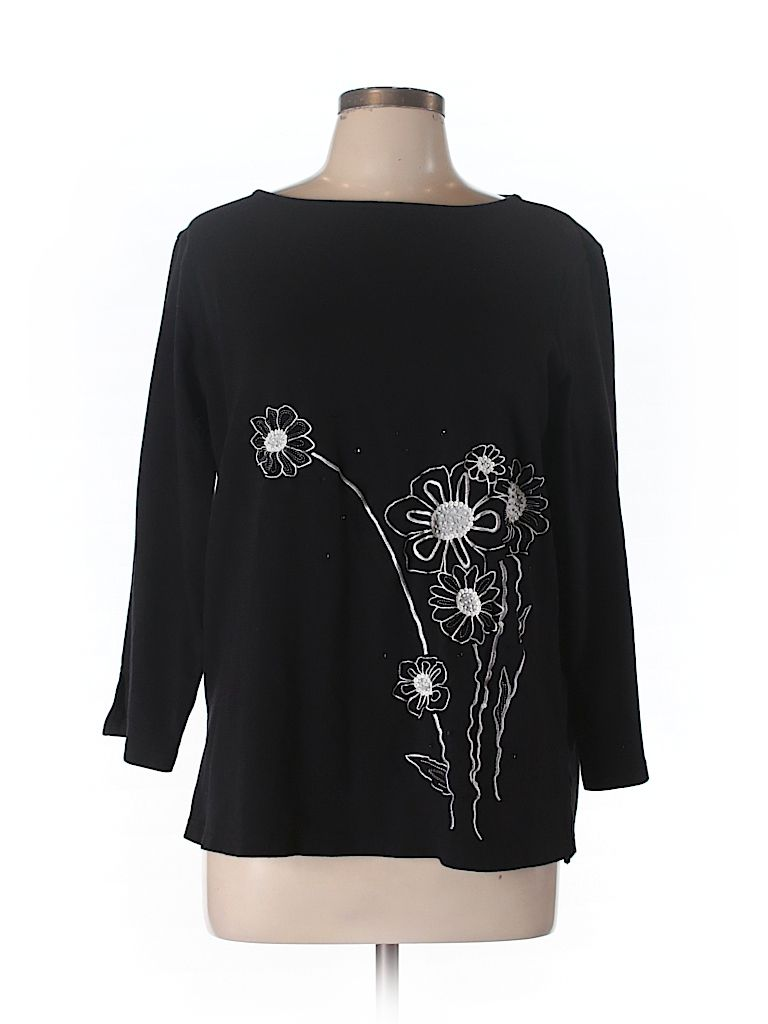 Check it out—Diane's Essentials Long Sleeve Top for $14.99 at thredUP!