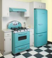 Marvelous Retro Turquoise Kitchen Appliances