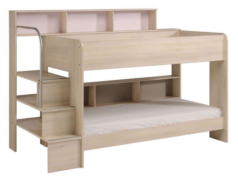 lit superpose pas cher en bois