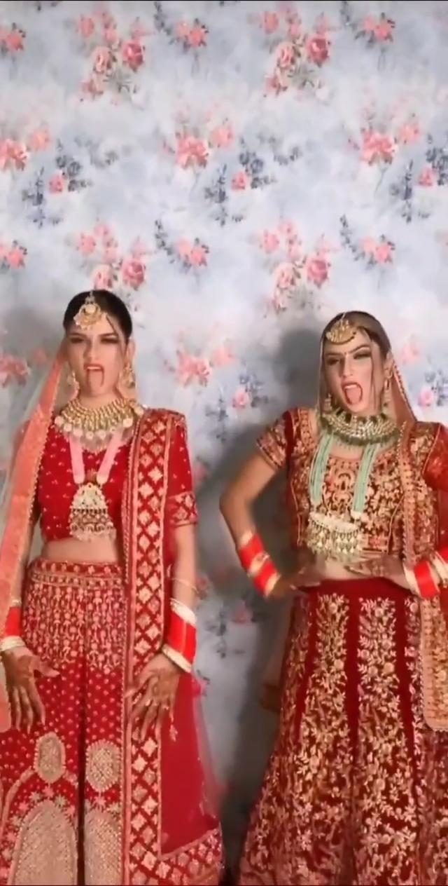 Brides dance to TikTok famous songs!