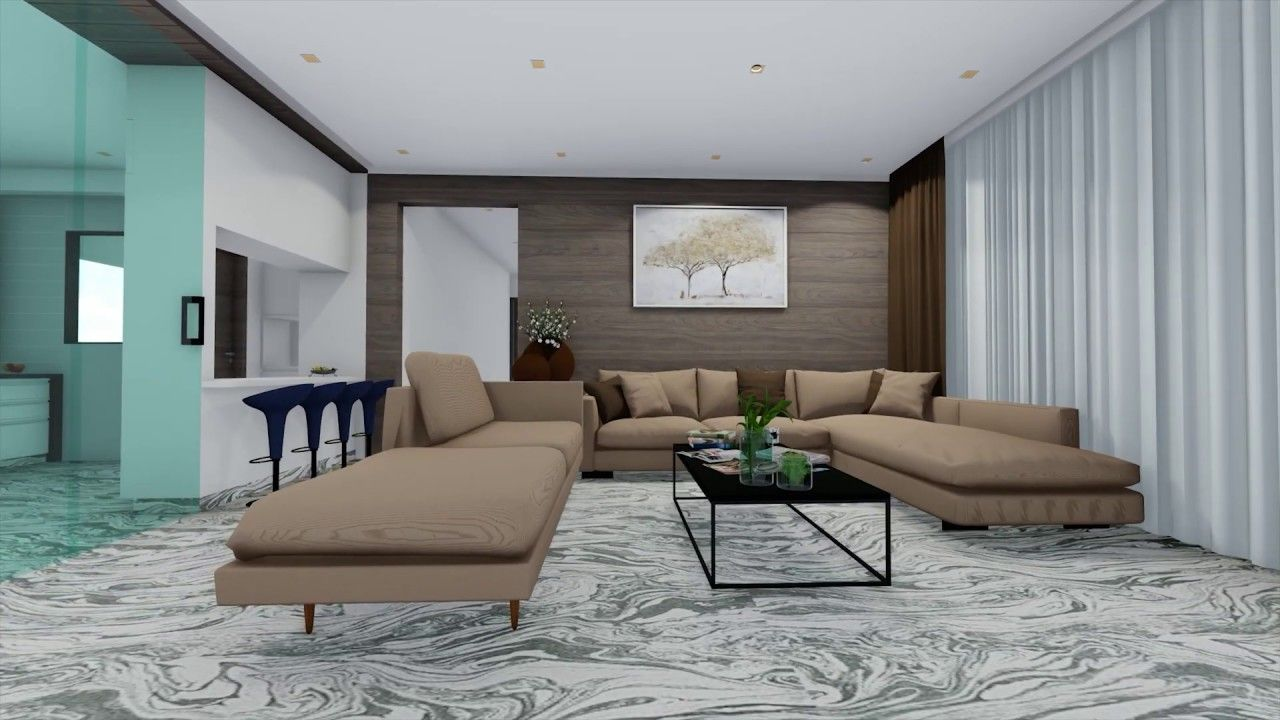 Living Room Interior Walkthrough Interior Room Interior Design