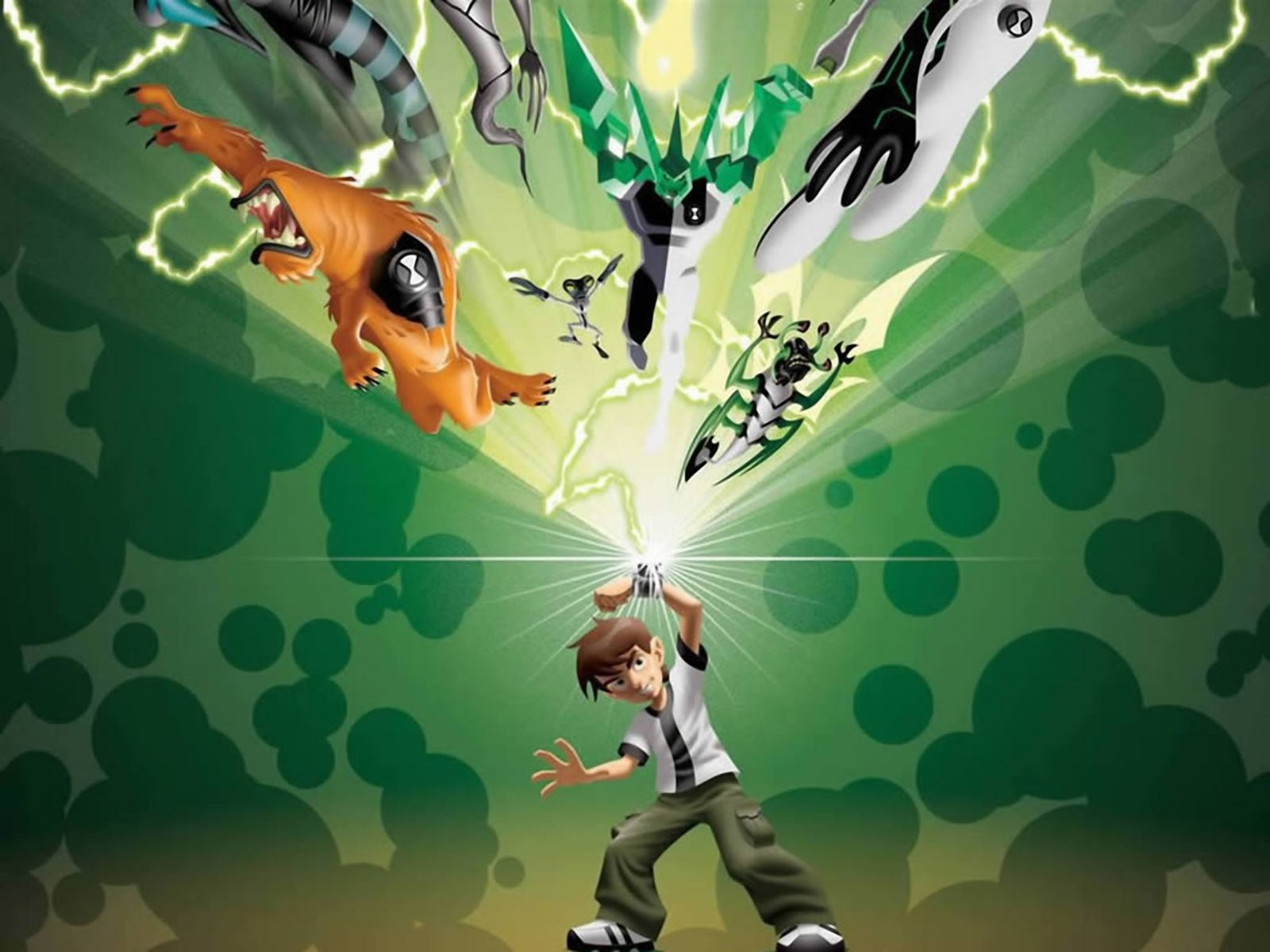 Ben 10 Alien Force Hd Wallpaper Animation Wallpapers Ben 10 Alienígenas Tigres