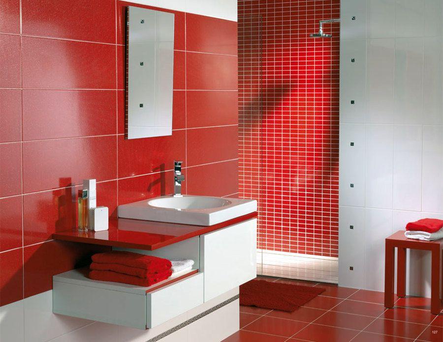 Baño Rojo Ideas Para Decorar Tu Hogar Habitissimo Muebles Para Baños Modernos Cuarto De Baño Rojo Muebles De Baño