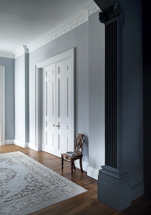 lead v hallway entrance home interior paint paper library hall rh pinterest com