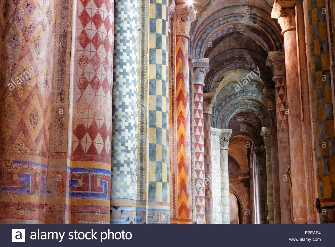 Map Of Poitiers%0A France  Vienne  Poitiers  Romanesque Church  Notre Dame La Grande Stock  Photo