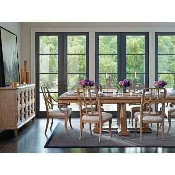 dining room with multiple tall windows sets of french doors design rh pinterest com