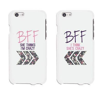 BFF Floral Arrow Cute BFF Matching Phone Cases For Best Friends Gift - Trivoshop - iPhone 6Plus / iPhone 7