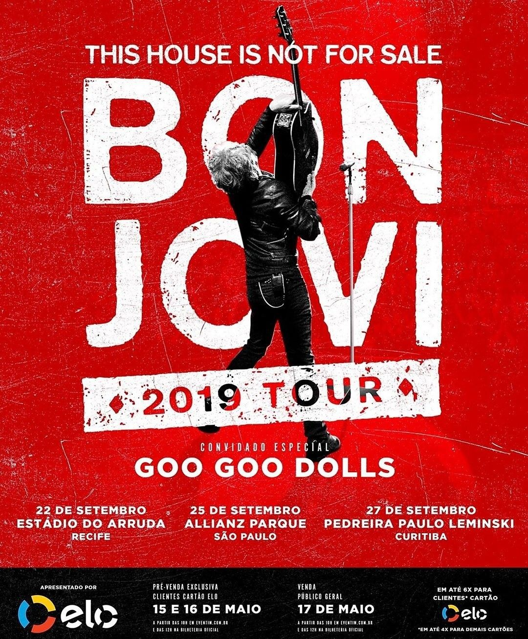 Pin By Foxfire832012 On Brasil 2019 Jon Bon Jovi Bon Jovi Concert Posters