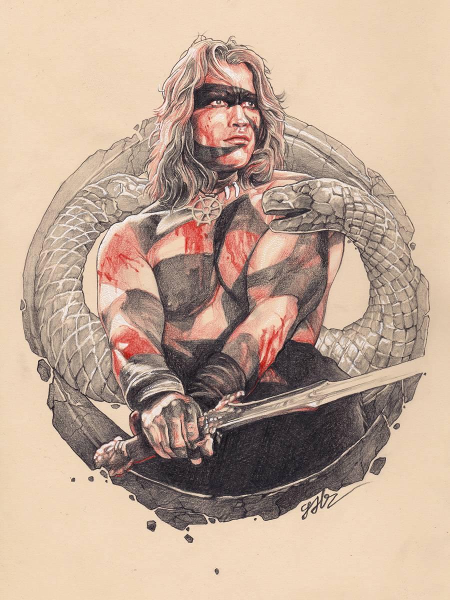 Conan The Barbarian Conan Le Barbare Conan Barbare Barbare