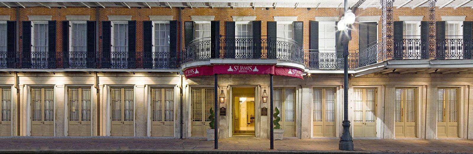 new orleans hotel st james hotel cbd in the french quarter nola rh pinterest com