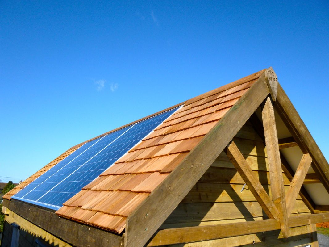 Solar panels flush with roofing - Tiny House UK sells kits to attach on tiny house computer, tiny house swimming pool, tiny house awning, tiny house electrical, tiny house led light, tiny house bicycle, tiny house fan, tiny house windows, tiny house windmill, tiny house wind power, tiny house roofing, tiny house refrigerator, tiny house generator, tiny house on grid, tiny house ladder, tiny house water, tiny house dc, tiny house air conditioning, tiny house rainwater collection, tiny house home,