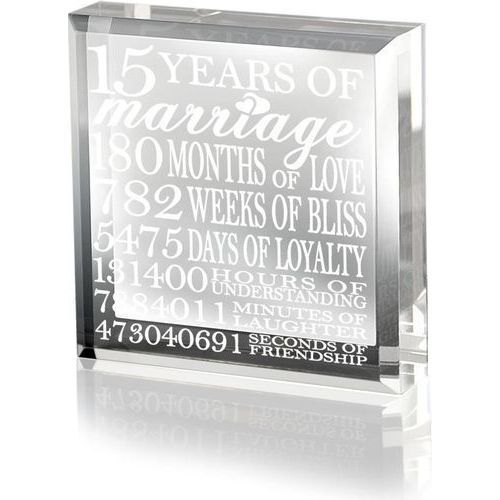 Crystal Gifts For 15th Wedding Anniversary: 50 Good 15th Wedding Anniversary Gift Ideas For Him & Her