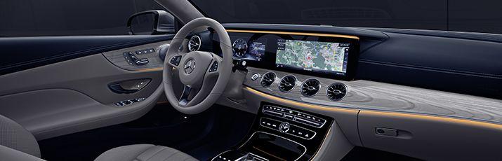 Mercedes Benz Classe E Coupe Confort Interieur Classe E Coupe
