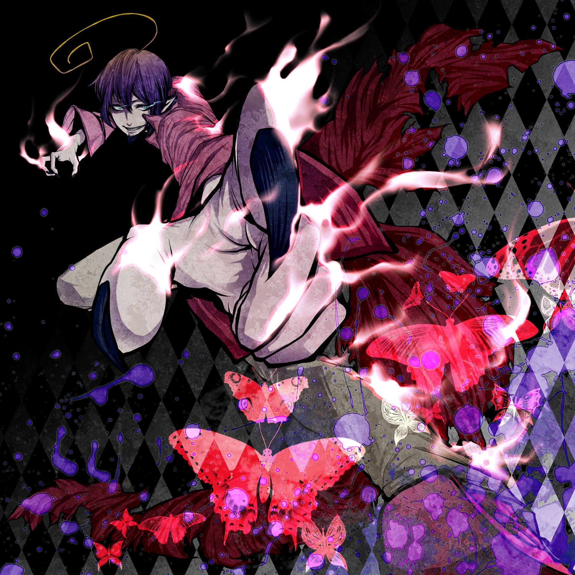 mephisto pheles blue exorcist wallpaper wwwpixsharkcom