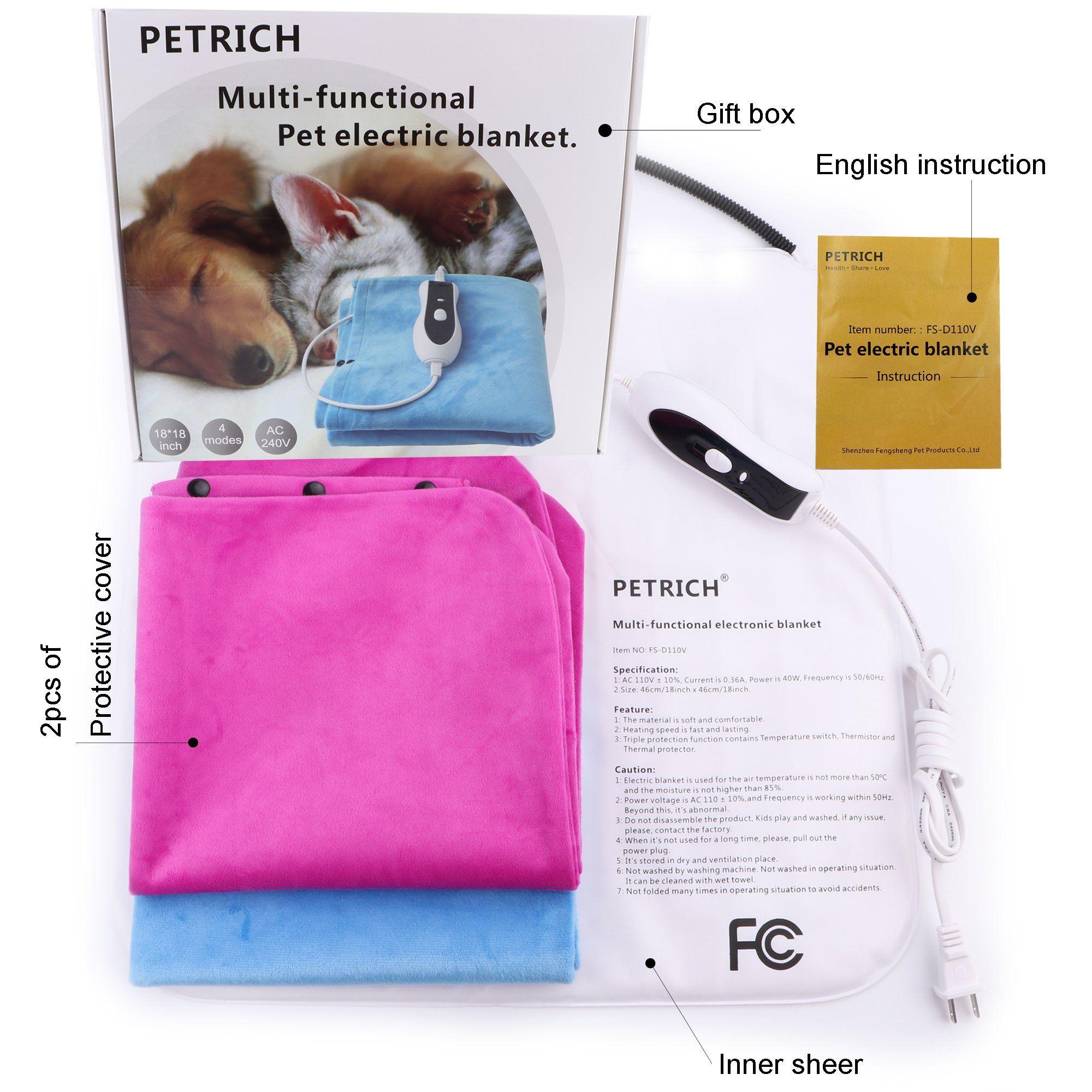 Manufacturing Pet Bed Warmer Tan Pet Heating Pad Dog Cat