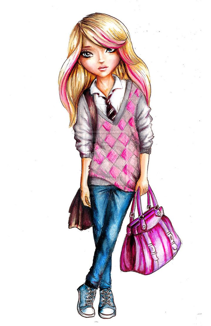 Back to school by funandcake on deviantART (With images ... on Top Model Ideas  id=59174