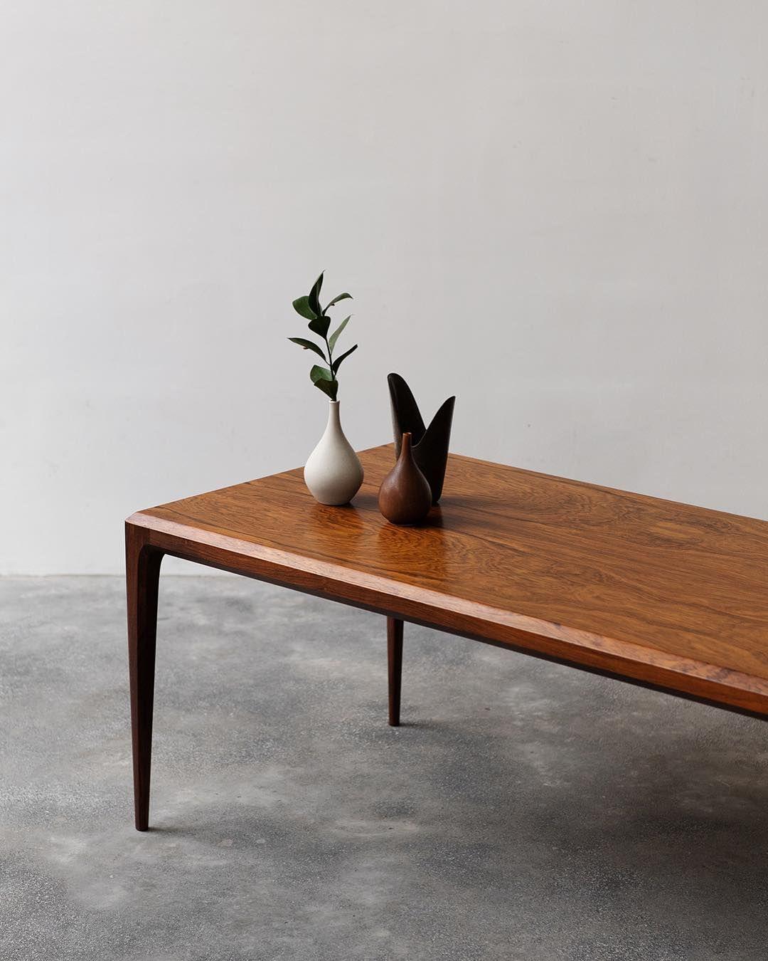 Vintage Danish Coffee Table Designed By Johannes Andersen In Exquisite Brazilian Rosewood Labeled An Coffee Table Danish Coffee Table Minimalist Coffee Table [ 1350 x 1080 Pixel ]