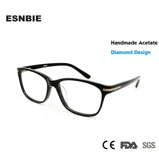 Hot Deals $17.04, Buy ESNBIE Fashion Diamond Luxury Eye Glasses ...