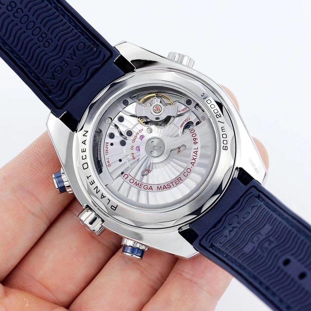 78cf2b10b7a Omega Seamaster Planet Ocean Chronograph 45.5mm Cal.9900 Automatic Mens  Watch 215.33.46.51